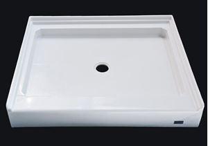 custom made acrylic shower base