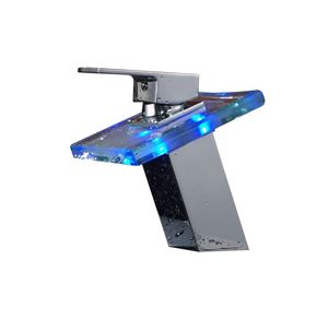 Picture of F1-K8444CH LED LIGHT BATHROOM FAUCET