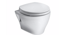 Picture of   Aquia® Wall-Hung Dual-Flush Toilet, 1.6 GPF & 0.9 GPF, Elongated Bowl